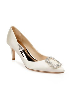 Badgley Mischka Collection Carrie Crystal Embellished Pump (Women)