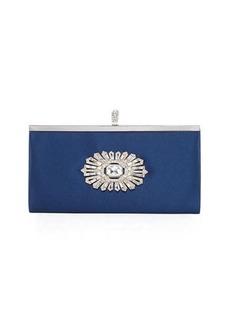 Badgley Mischka Carry Embellished Clutch Bag