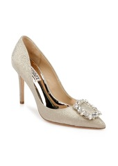 Badgley Mischka Collection Cher Crystal Embellished Pump (Women)