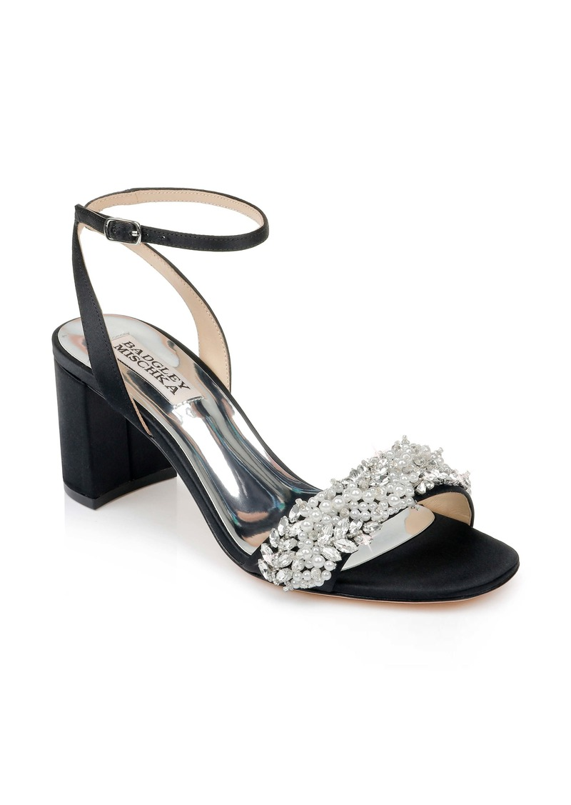 Badgley Mischka Clara Embellished Sandal (Women)