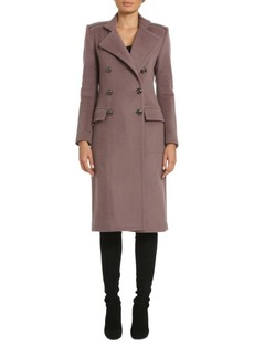 Badgley Mischka Classic Military Look Coat