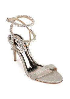 Badgley Mischka Claudette Crystal Embellished Sandal (Women)