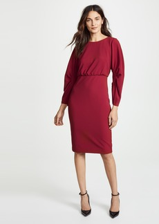 Badgley Mischka Collection Crew Neck Dress