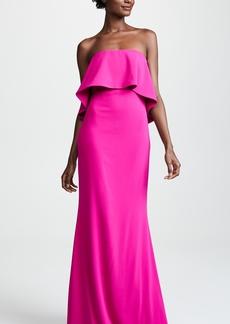 Badgley Mischka Collection Tiered Gown