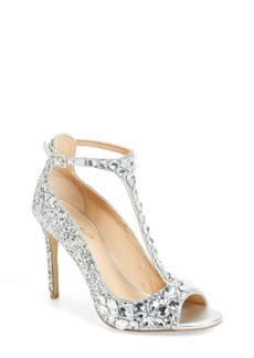Badgley Mischka Conroy Embellished T-Strap Pump (Women)