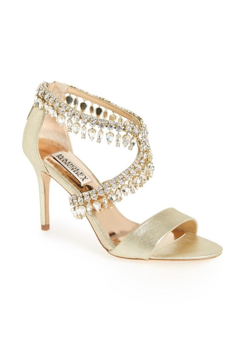 346698504 Badgley Mischka Badgley Mischka Crystal-Embellished Sandal (Women ...