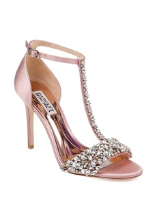 Badgley Mischka Crystal Embellished Sandal (Women)
