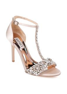 Badgley Mischka Crystal Embellished Sandal (Women)