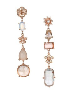 Badgley Mischka Crystal Linear Earrings