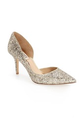 Badgley Mischka Collection Daisy Embellished Pointed Toe Pump (Women)
