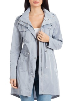 Badgley Mischka Dakota Rain Anorak
