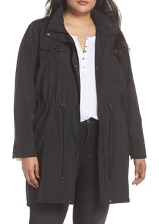 Badgley Mischka Dakota Raincoat (Plus Size)