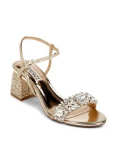 Badgley Mischka Collection Daniele Block Heel Sandal (Women)