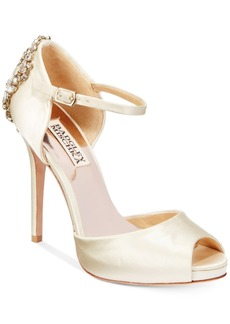Badgley Mischka Dawn d'Orsay Evening Sandals Women's Shoes
