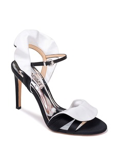 Badgley Mischka Ella Two-Tone Satin Sandal (Women)