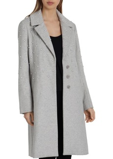 Badgley Mischka Embellished Coat
