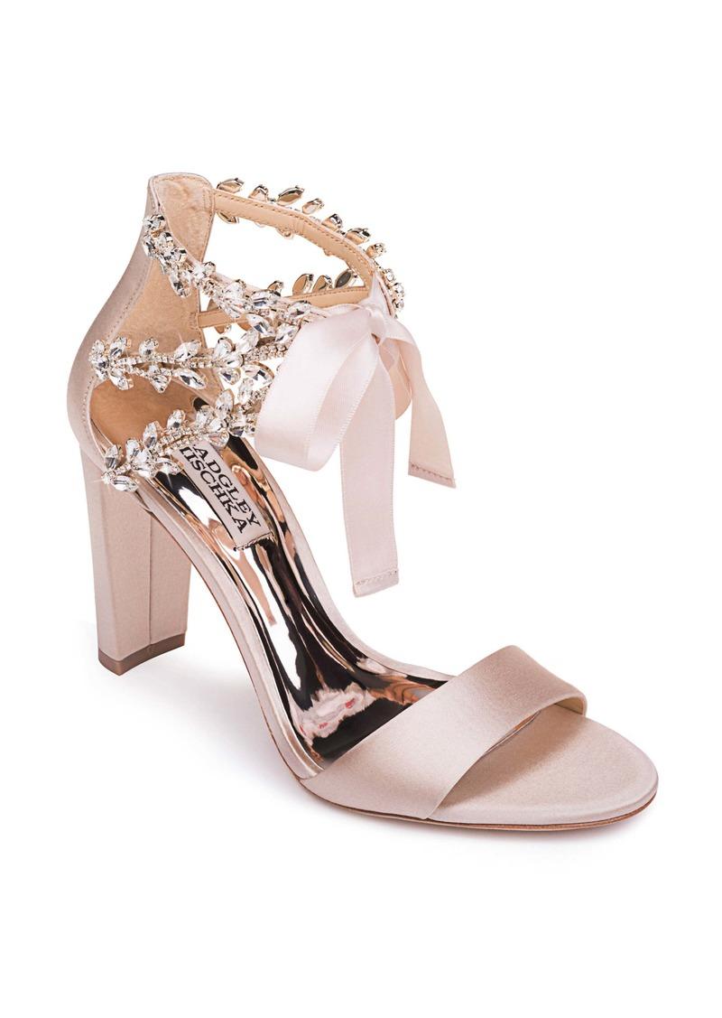 Badgley Mischka Collection Ever After Embellished Sandal (Women)