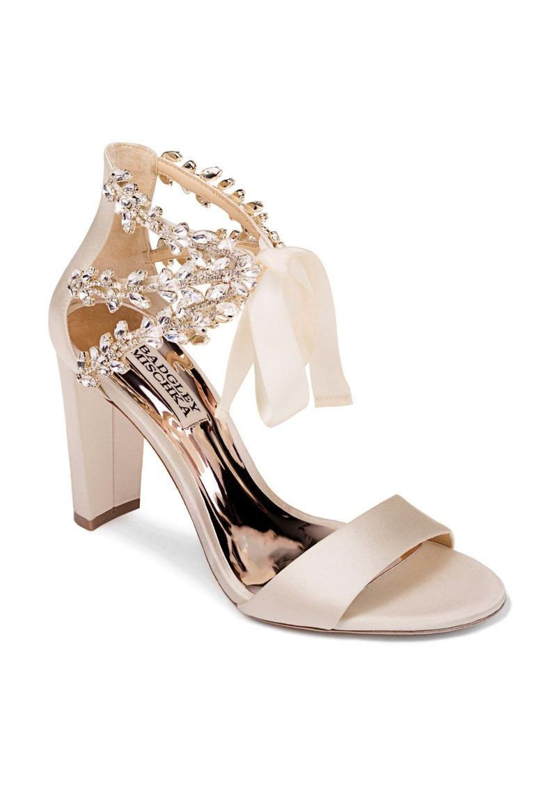 Badgley Mischka Ever After Embellished Sandal (Women)