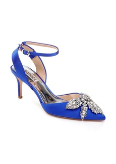 Badgley Mischka Fana Crystal Embellished Pump (Women)