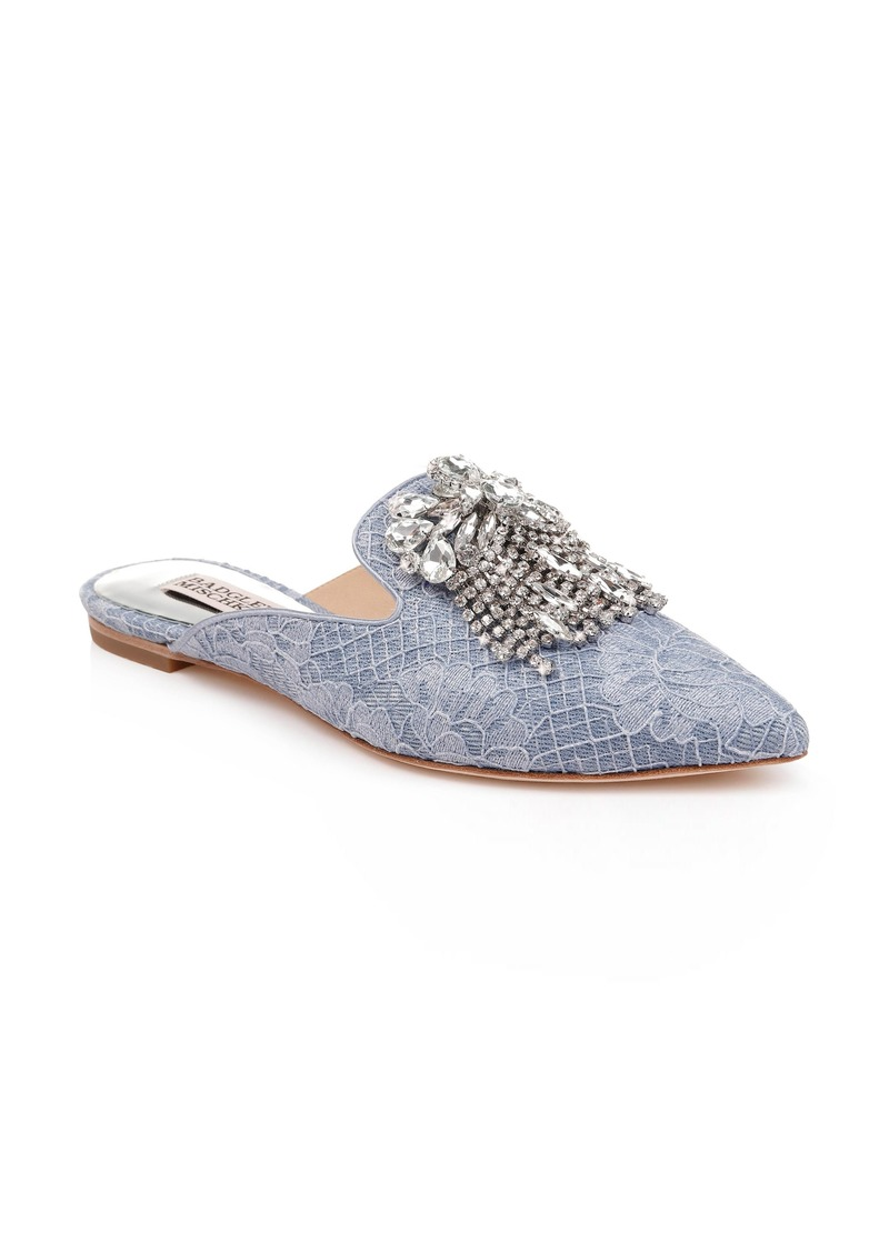Badgley Mischka Farley Embellished Mule (Women)