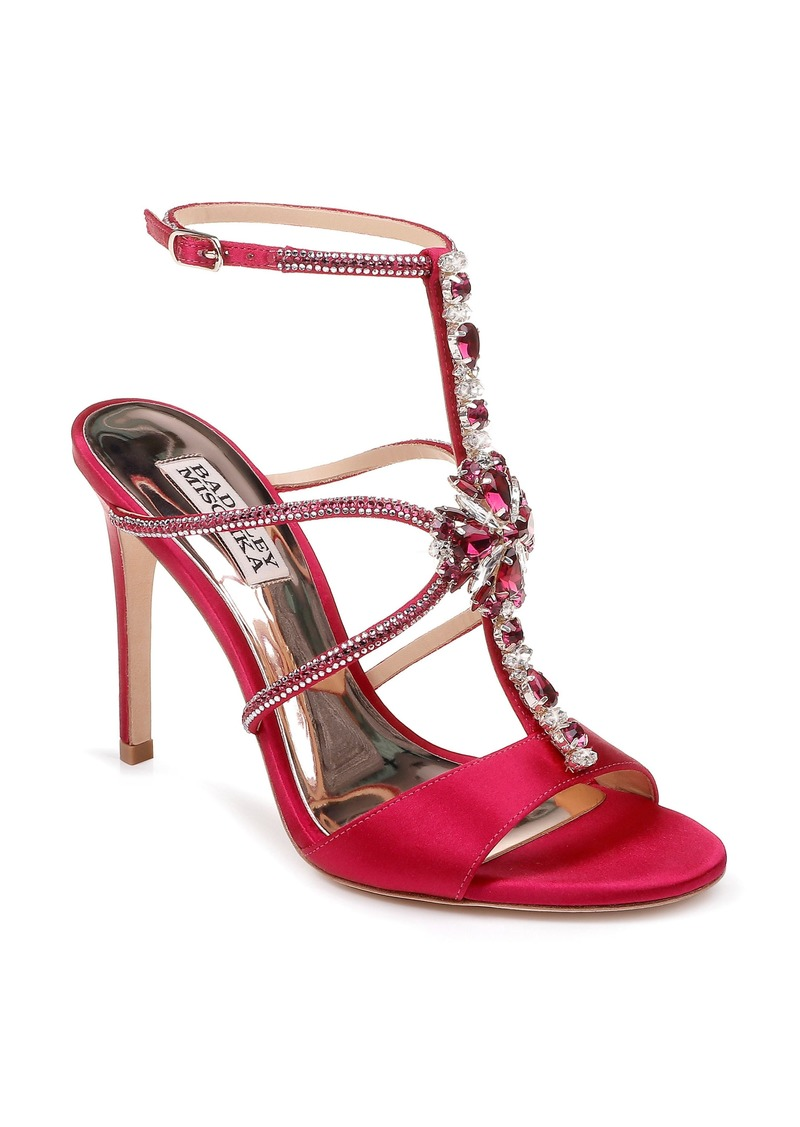 Badgley Mischka Faye Ankle Strap Sandal (Women)