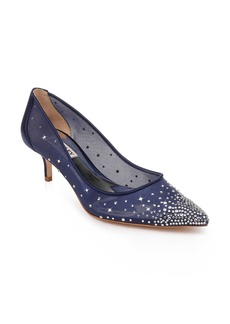 Badgley Mischka Felicity Crystal Embellished Pump (Women)