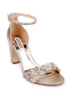 Badgley Mischka Finesse Embellished Ankle Strap Sandal (Women)