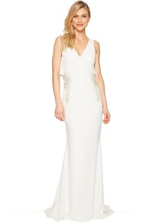 Badgley Mischka Flair Back