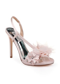 Badgley Mischka Forever Flower Sandal (Women)