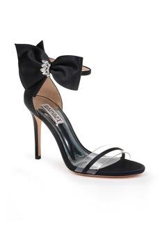 Badgley Mischka Fran Bow Ankle Strap Sandal (Women)