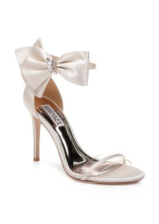 Badgley Mischka Fran Bow Ankle Strap Sandal (Women)