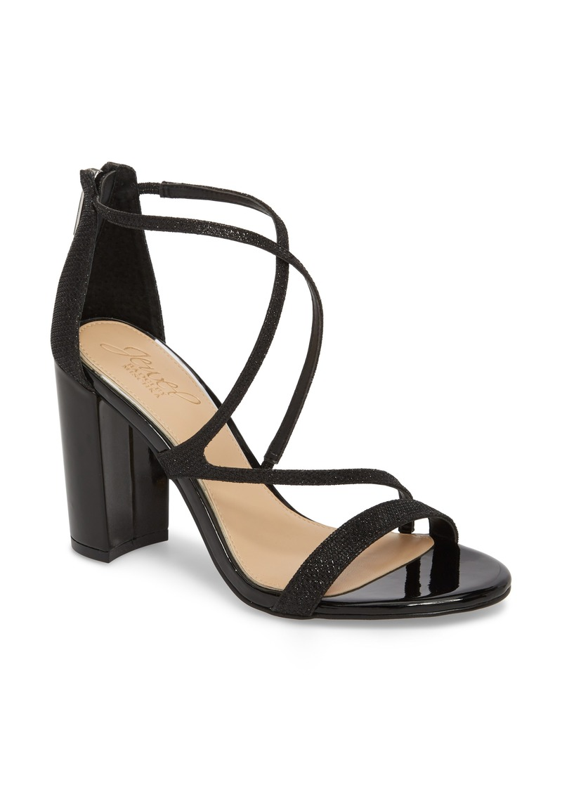 Badgley Mischka Women's Badgley Mischka Gale Block Heel Sandal chmAQv
