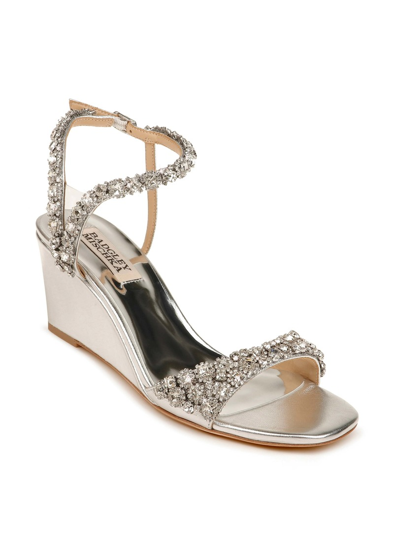 Badgley Mischka Collection Gali Wedge Sandal (Women)