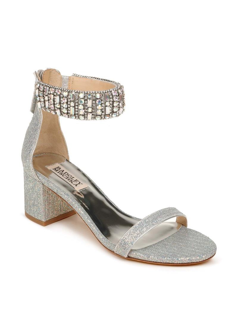 Badgley Mischka Collection Gallia Ankle Strap Sandal (Women)
