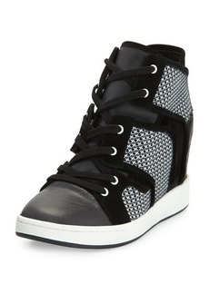 L.A.M.B. Gera Hidden-Wedge Sneaker