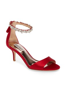 Badgley Mischka Geranium Embellished Sandal (Women)