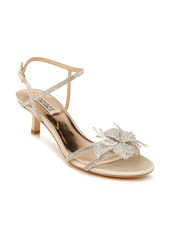 Badgley Mischka Collection Gianna Crystal Embellished Strappy Sandal (Women)