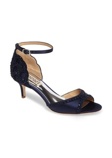Badgley Mischka 'Gillian' Crystal Embellished d'Orsay Sandal (Women)