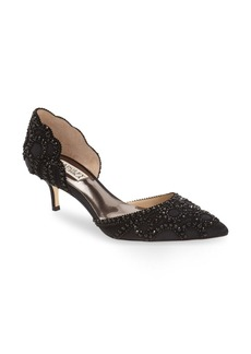 Badgley Mischka 'Ginny' Embellished d'Orsay Pump (Women)