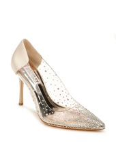 Badgley Mischka Collection Gisela Embellished Pointed Toe Pump (Women)