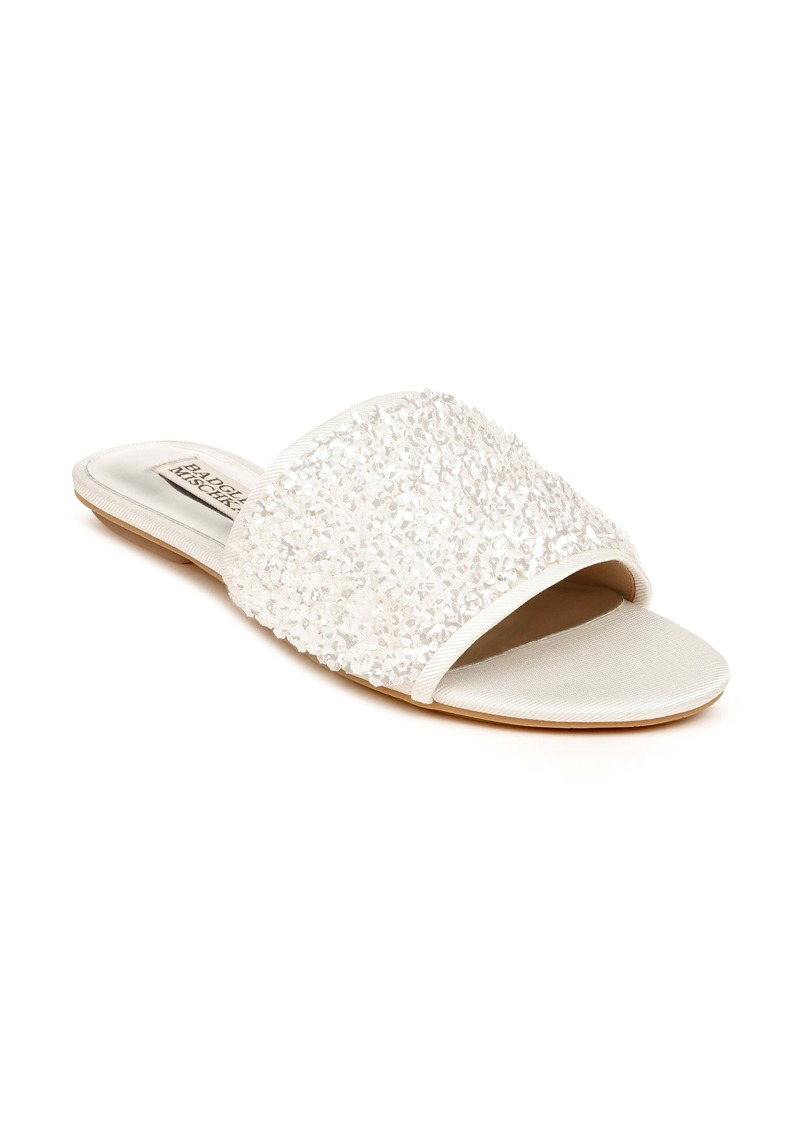 Badgley Mischka Collection Gita Slide Sandal (Women)