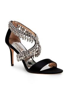 Badgley Mischka Grammy Jewel Embellished Open Toe High Heel Sandals