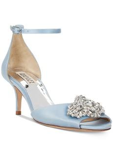 Badgley Mischka Halsey Evening Sandals Women's Shoes