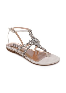 Badgley Mischka Hampden Crystal Embellished Sandal (Women)