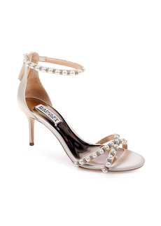 Badgley Mischka Hannah Embellished Ankle Strap Sandal (Women)