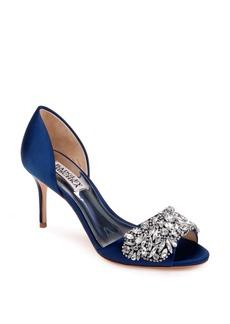 Badgley Mischka Hansen Crystal Embellished Sandal (Women)
