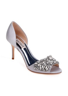 Badgley Mischka Hansen Crystal Embellished Sandal (Women)