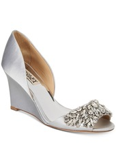 Badgley Mischka Hardy Evening Wedge Sandals Women's Shoes