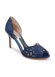 Badgley Mischka Harris Peep Toe Pump (Women)
