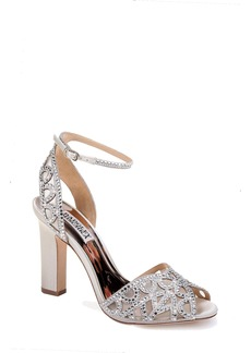 Badgley Mischka Hart Crystal Embellished Sandal (Women)